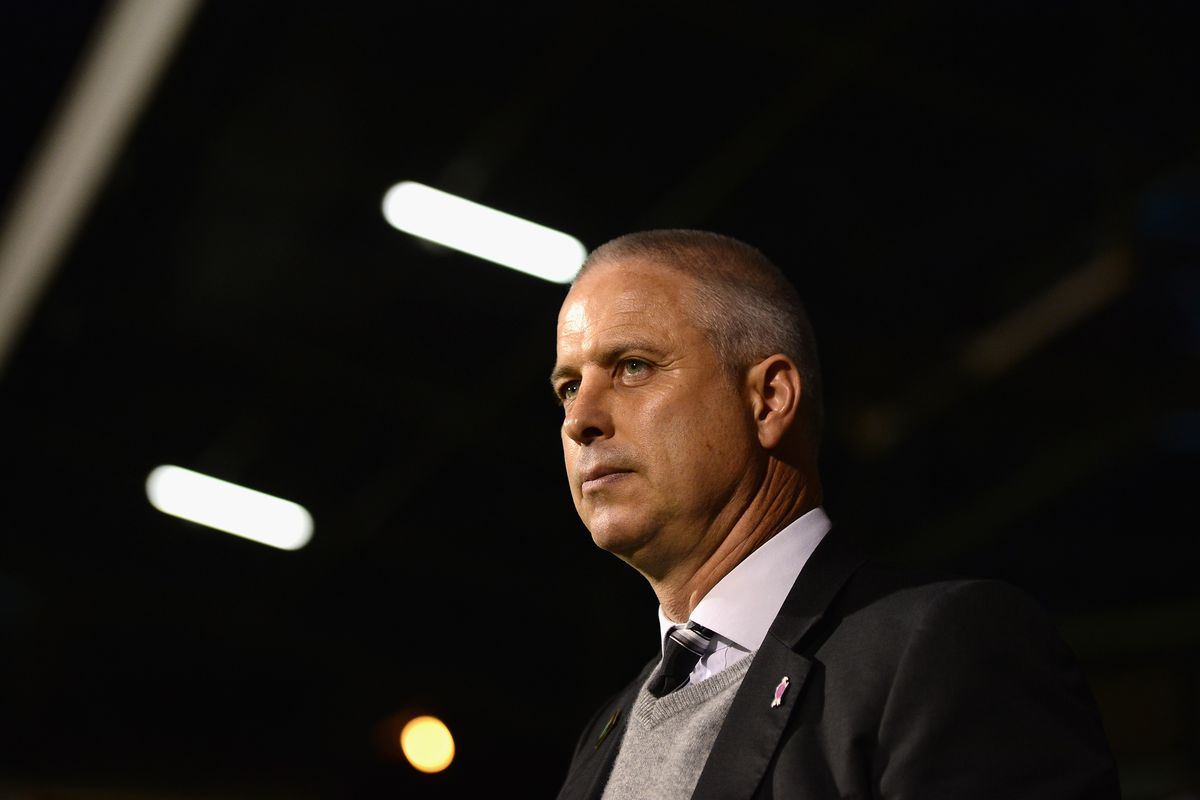 Kit Symons, the new manager of Fulham FC