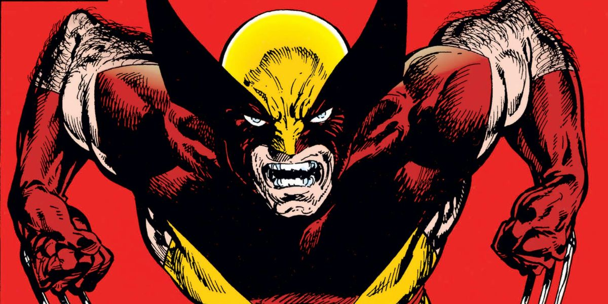 Wolverine snarls at the viewer with his claws out on the cover of Wolverine #17, Marvel Comics (1989).