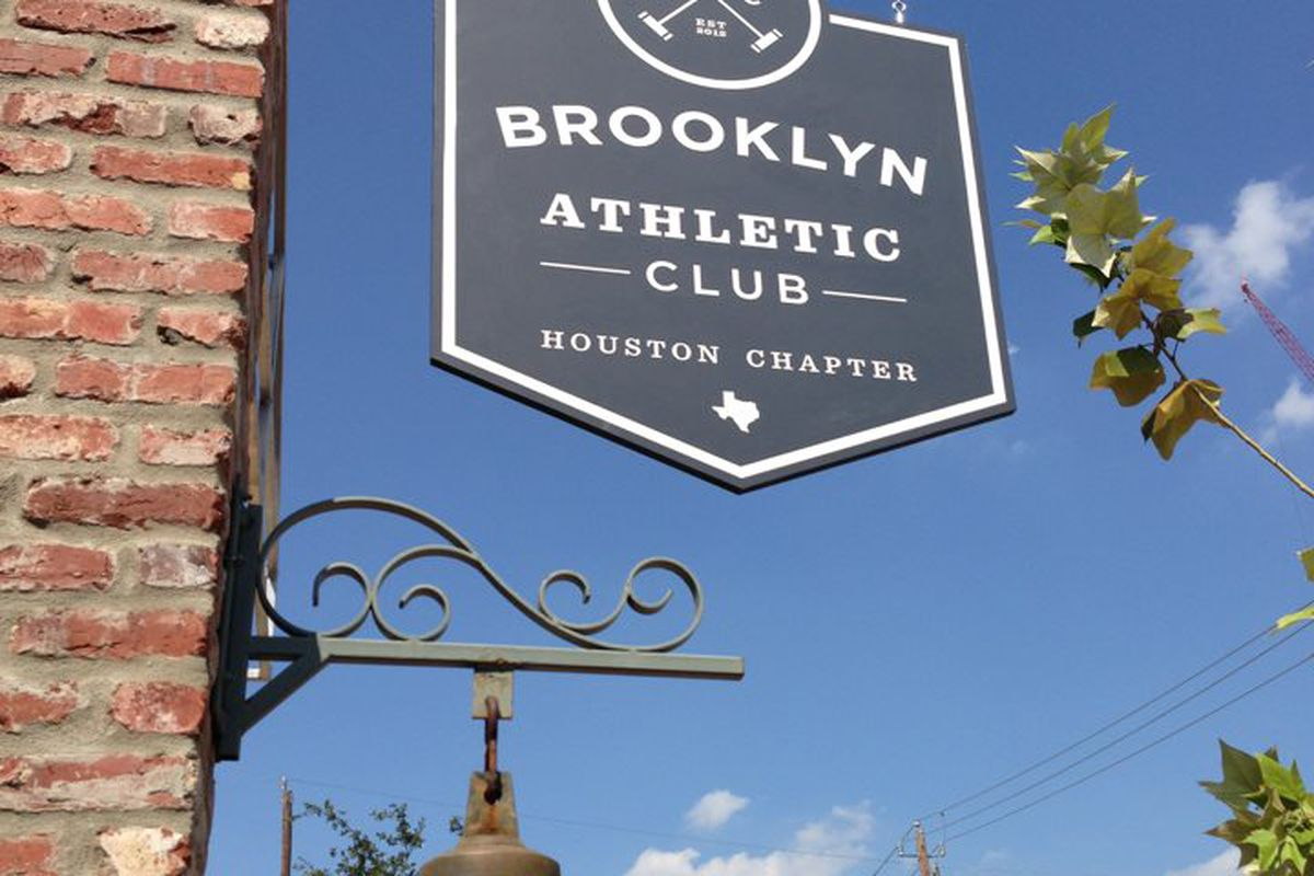 A sign of progress at the upcoming Brooklyn Athletic Club