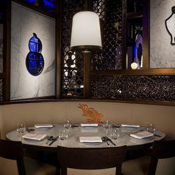 The dining room at Hakkasan. Photo: Erik Kabik