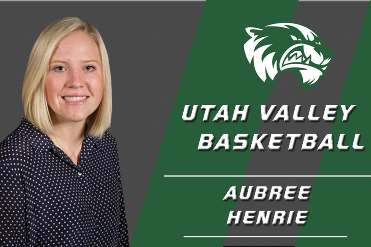 Utah Valley women's basketball hired Aubree Henrie as an assistant coach. Henrie comes to the Wolverines after spending two seasons as an assistant coach at Lewis-Clark State College and a previous playing career at Seattle Pacific University.