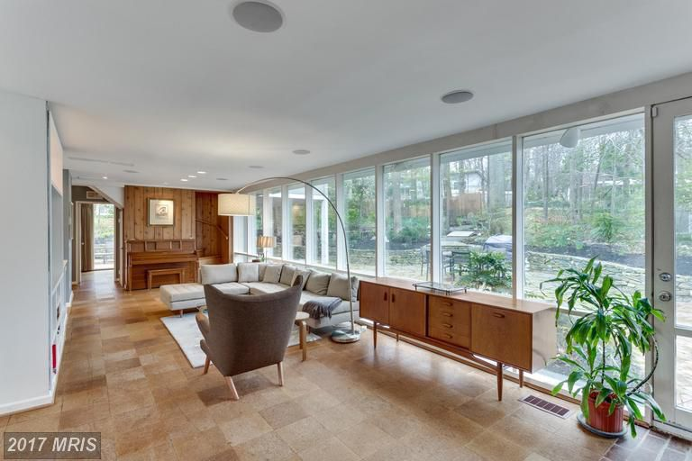 Three Charles Goodman-designed homes for sale in the D.C. area ...