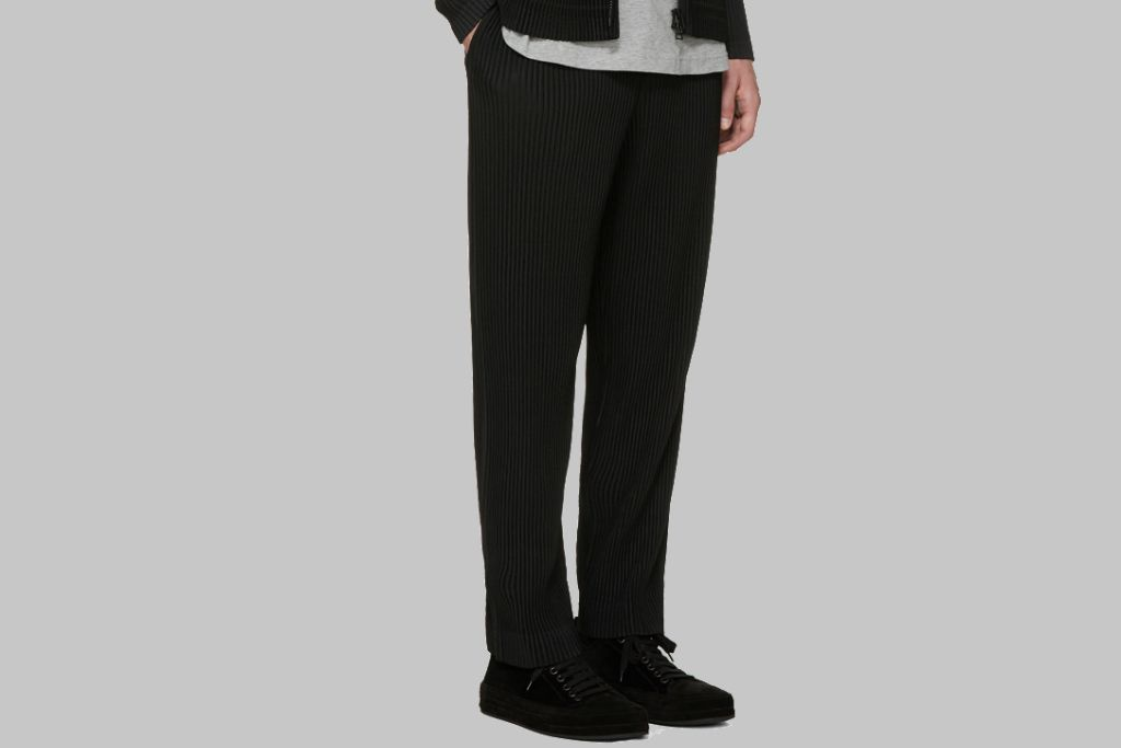 Homme Plissé Issey Miyake trousers