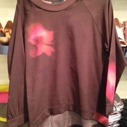 Silk pullover, $39