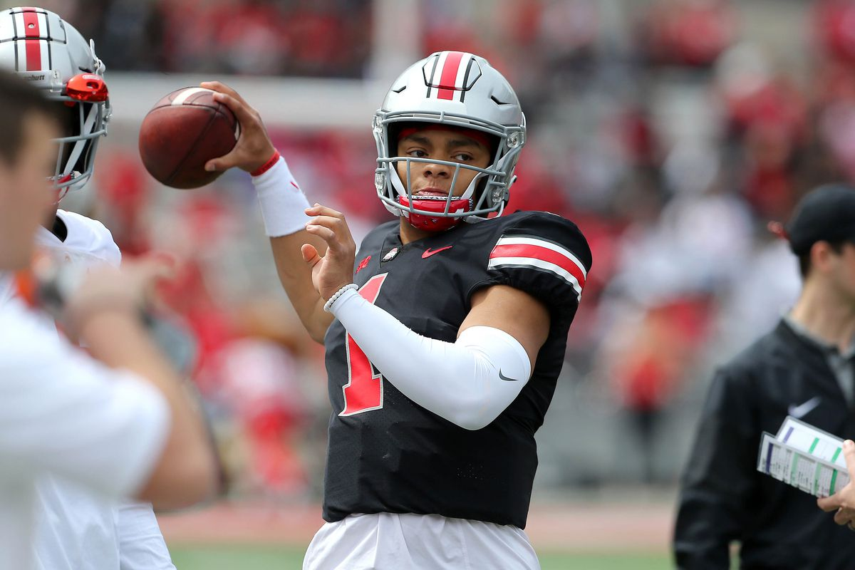 Justin Fields has the confidence and energy to lead Ohio State