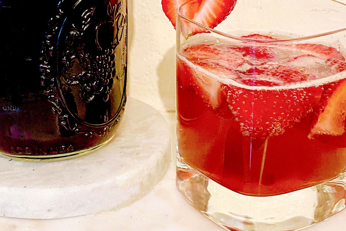 A shrub, or a tonic, is a syrup composed of fruit, sugar and vinegar. Try this recipe for a strawberry-balsamic shrub in your next summer cocktail or mocktail.