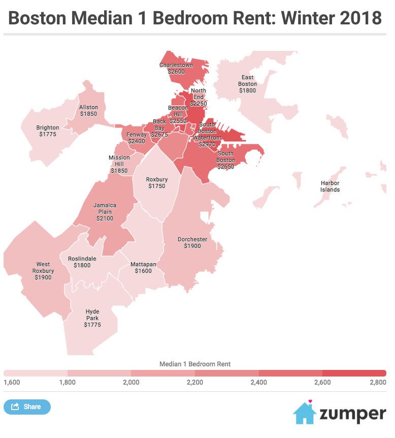 Jamaica Plain Apartments: Jamaica Plain, East Boston Apartment Rents Grew Fastest