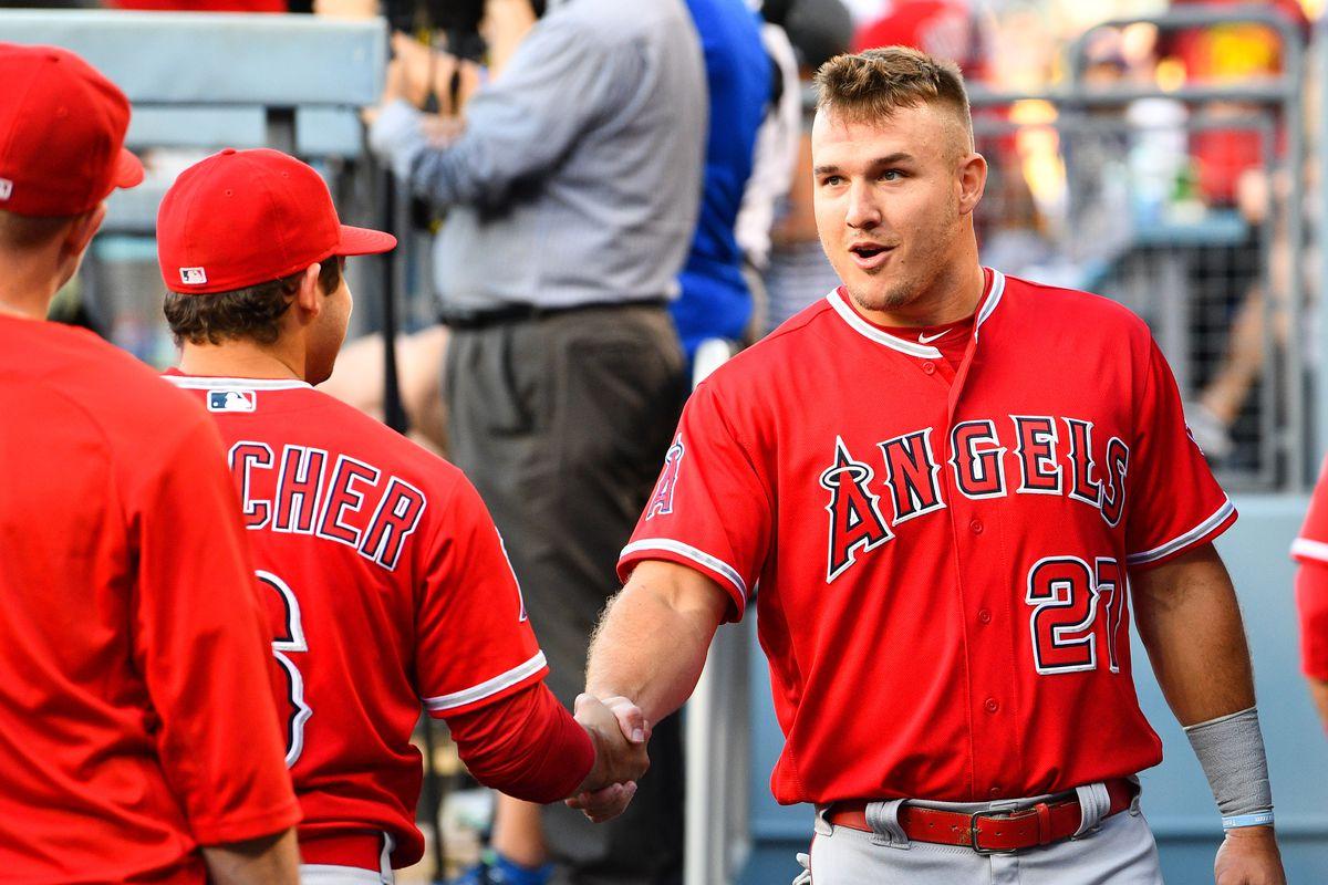 MLB: JUL 13 Angels at Dodgers