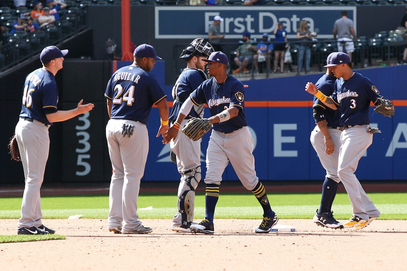 Brewers Lose Pitchers Duel In 12
