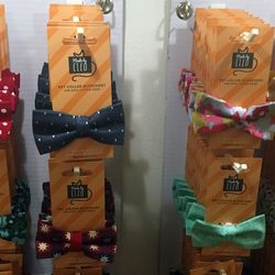Made by Cleo's offered adorable bowties for well-dressed kitties.