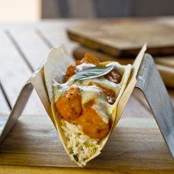 Crisp Tikka Chicken Taco