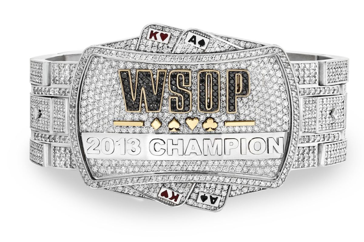2013 World Series of Poker bracelet