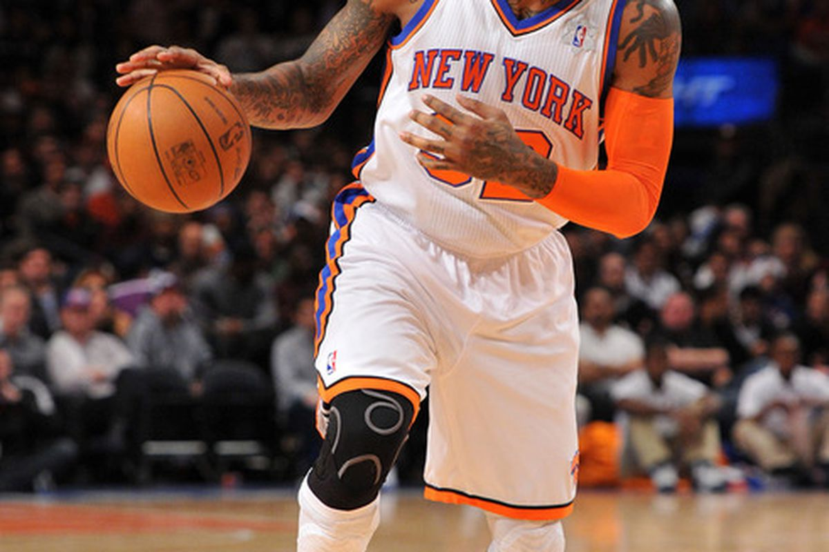 The fourth-highest paid player on the Knicks. (Photo by Christopher Pasatieri/Getty Images)