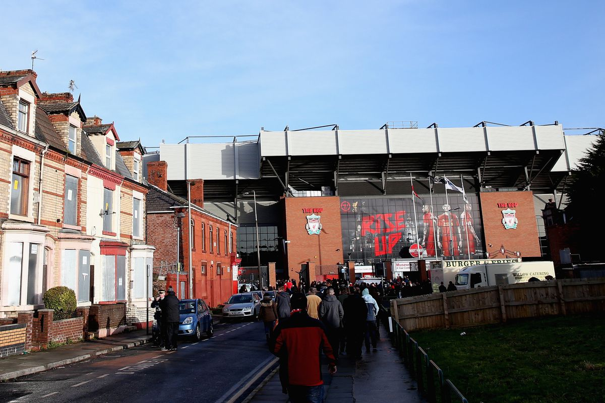 Suddenly this is no longer the closest you could possibly live to Anfield.