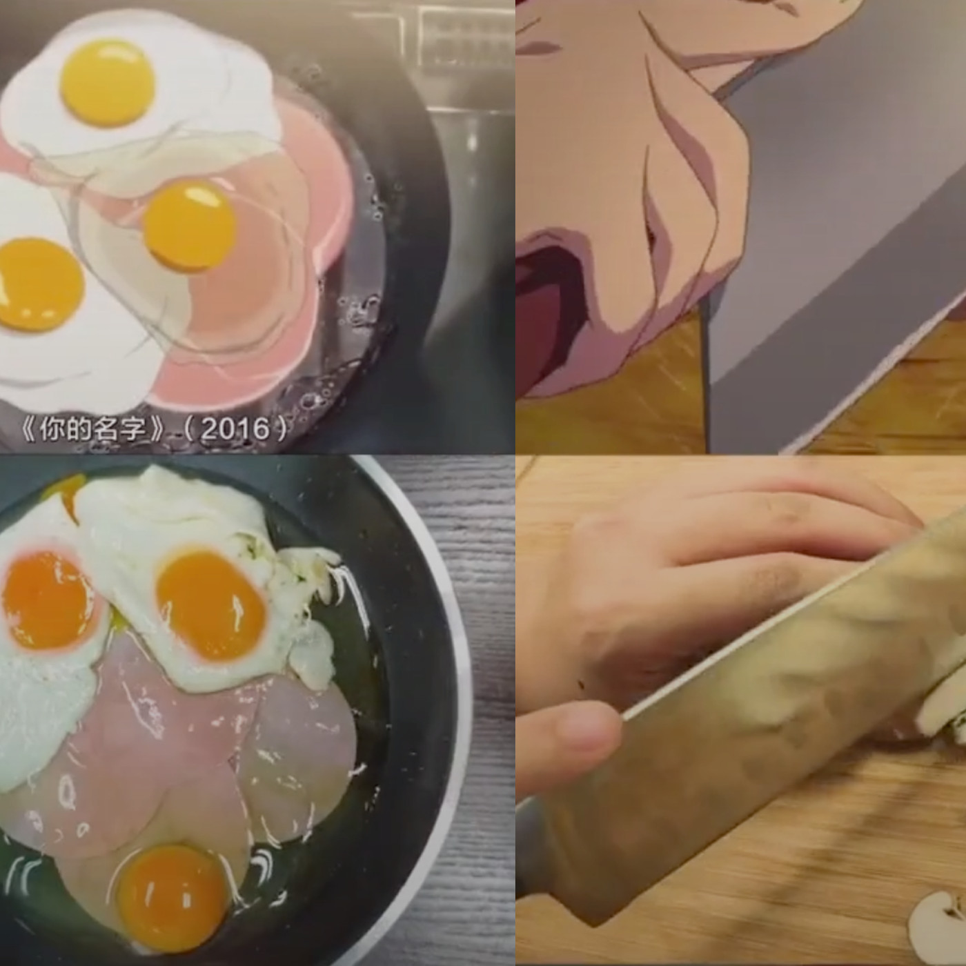Tiktok User Michael Chow Creates Anime Cooking Scenes With Real Food Eater