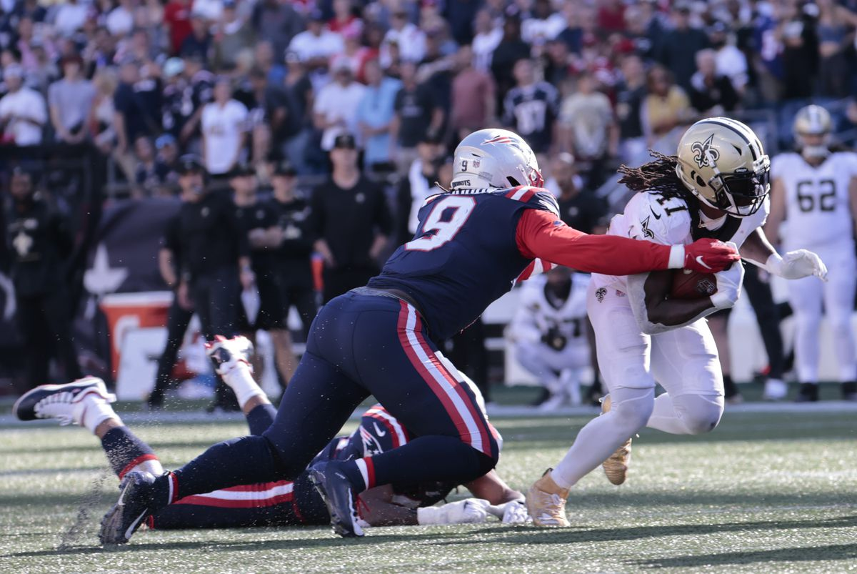 NFL: SEP 26 Saints at Patriots