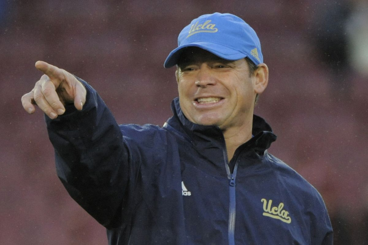 UCLA Coach Jim Mora takes to social media again to interact with his Bruin fanbase