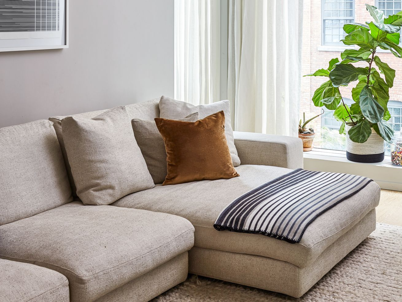 Neutral decor ideas to steal from a plant-filled Brooklyn home