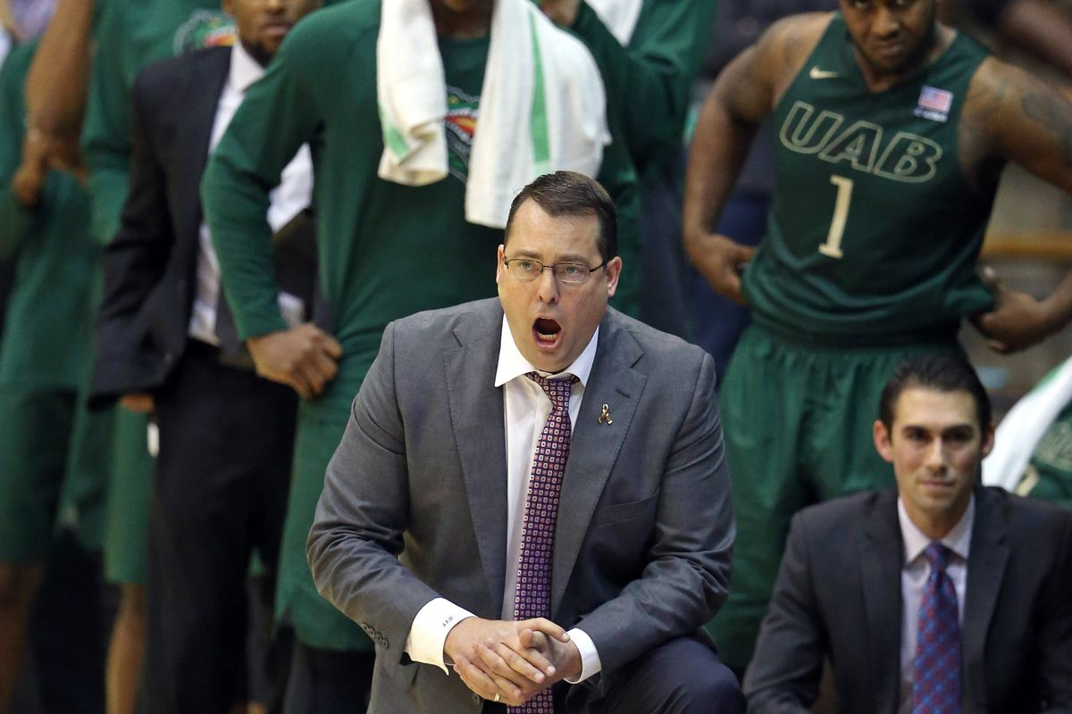 Even UAB's coach is aghast someone voted for them
