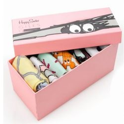 Happy Socks/Giles Deacon limited edition set ($100), available at Opening Ceremony Howard Street.