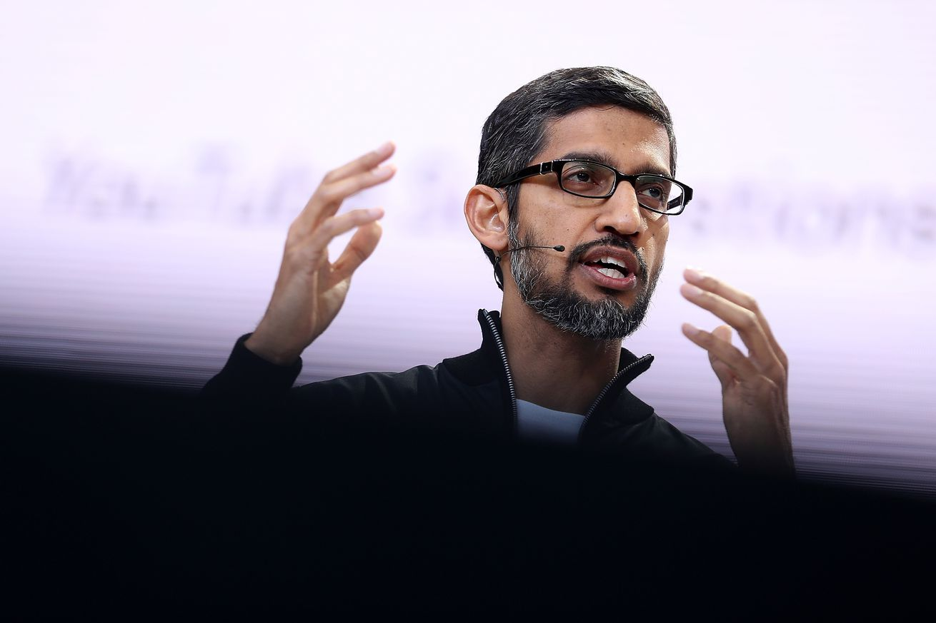 apple s tim cook and google s sundar pichai were surprise guests at china s internet conference