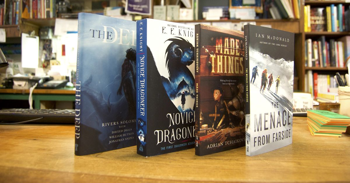 17 new science fiction and fantasy books to check out this November