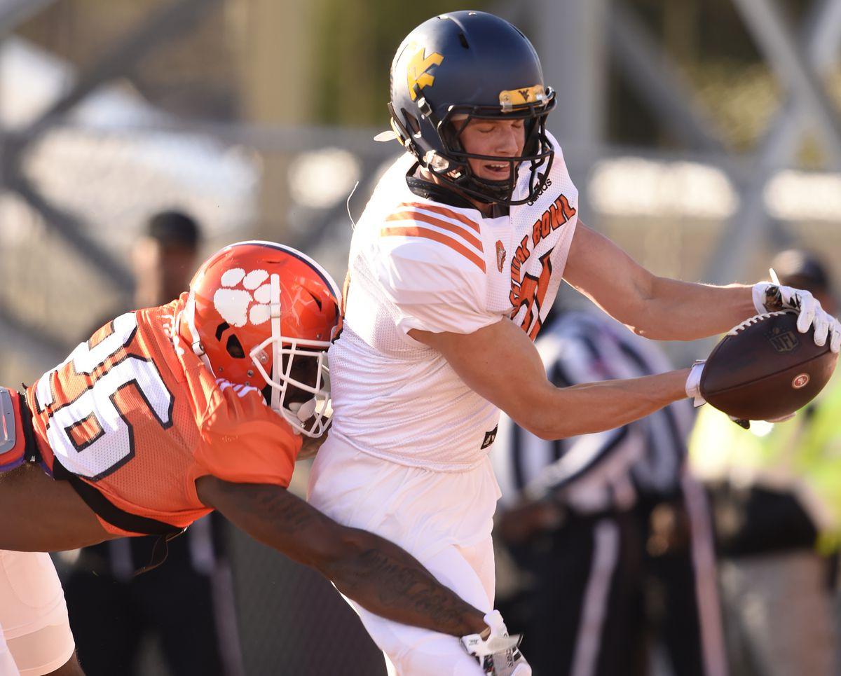 NCAA Football: Senior Bowl Practice-South
