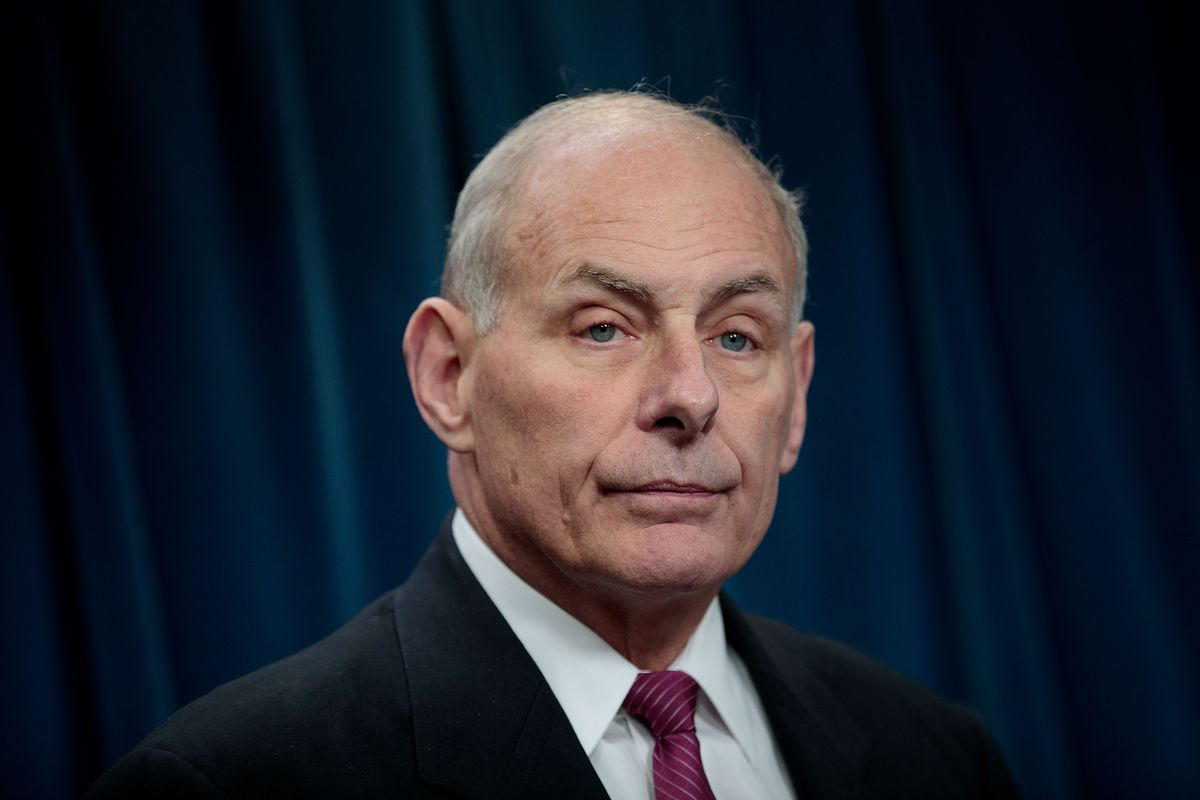 Kelly Responds to Rep. Who Called Him 'Disgrace to the Uniform'