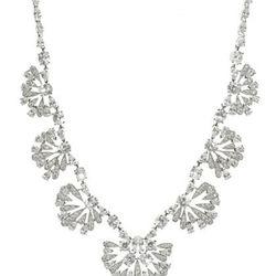 "<a href=""http://www.gilt.com/sale/women/bridal-fashion-jewelry/product/1030835422-cz-by-kenneth-jay-lane-cz-lotus-blossom-station-necklace"">CZ Lotus Blossom Station Necklace</a>, $275 (was $598)"