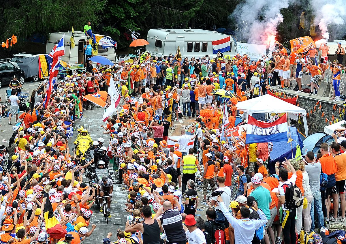 The Tour de France is a parade of dreams