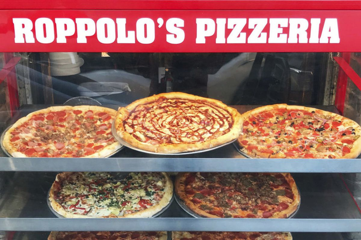 Pizza from Roppolo's Pizzeria