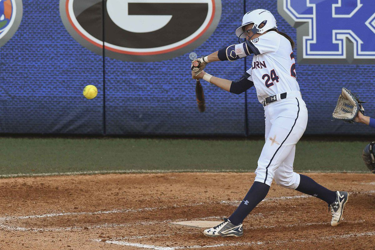 Kendall Veach launches a home run for the Tigers.