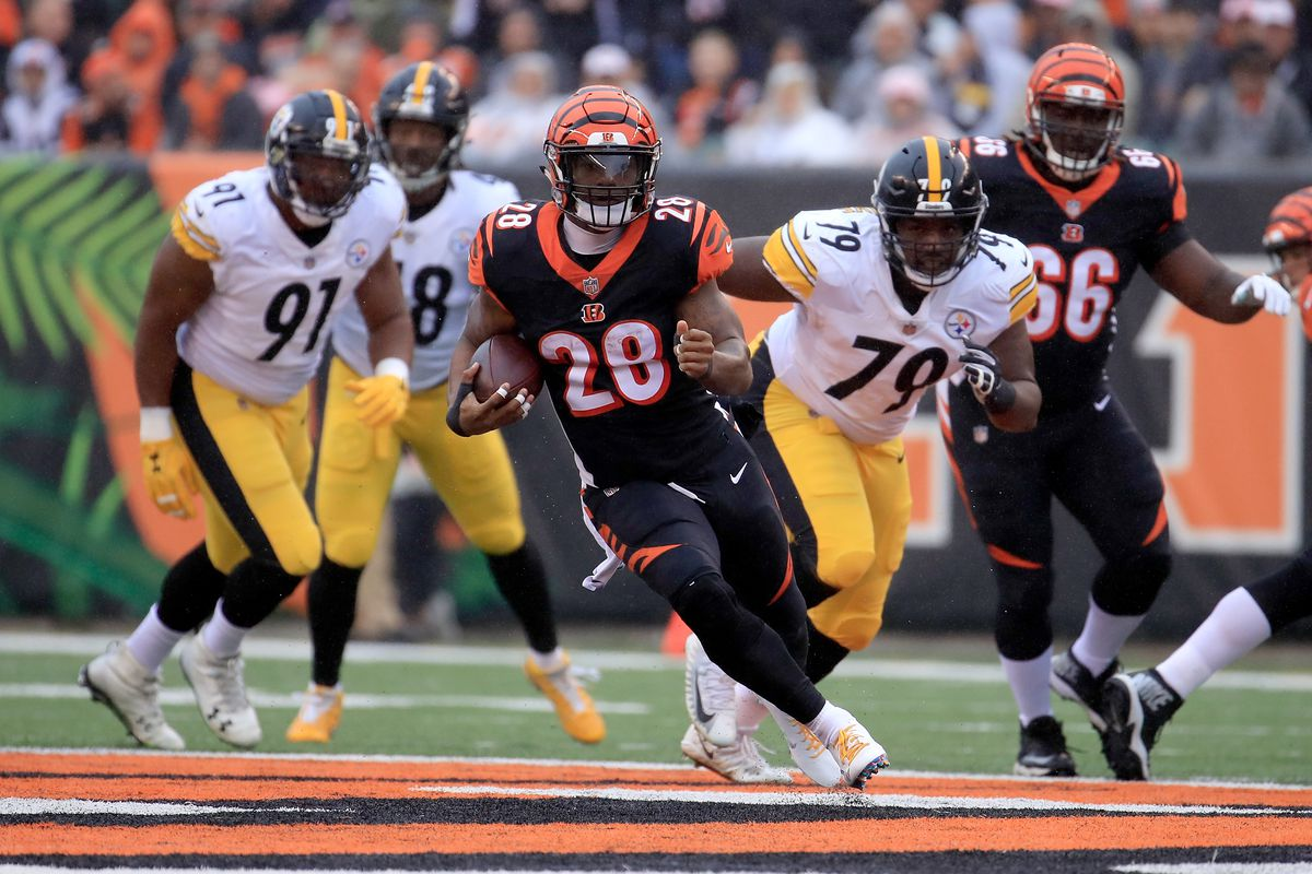 Cincinnati Bengals Vs Pittsburgh Steelers Nfl Week 12