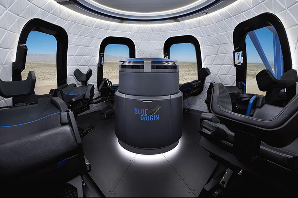 نتيجة بحث الصور عن The New Shepard Crew Capsule