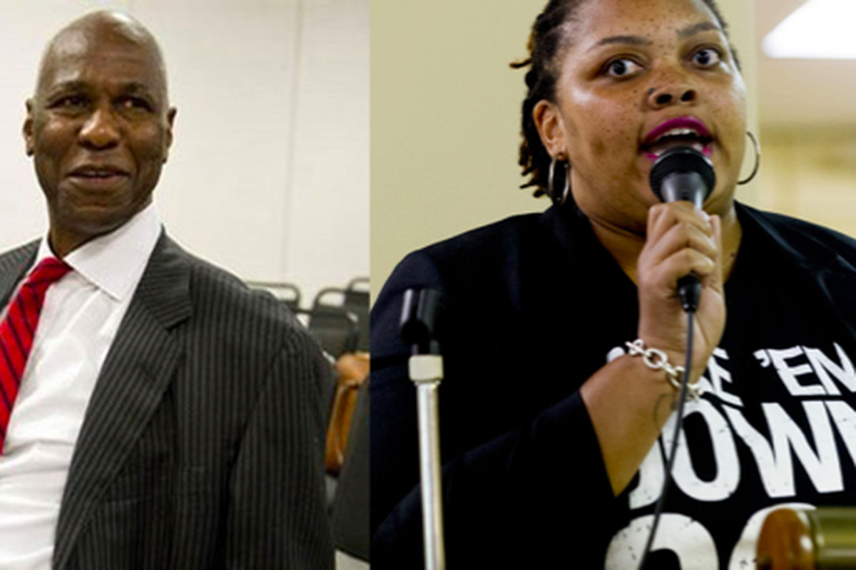 Tami Sawyer (left) and Willie Herenton (right) are two Memphis mayoral candidates with education backgrounds.