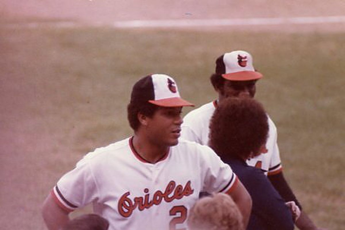 Your Off-Season O of the Day: Ken Singleton (Photo taken by my dad in 1979)