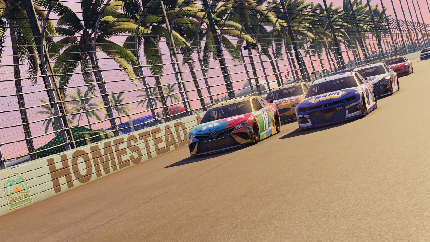 NASCAR Heat 3 impressions: Cleaner racing and plenty of dirt