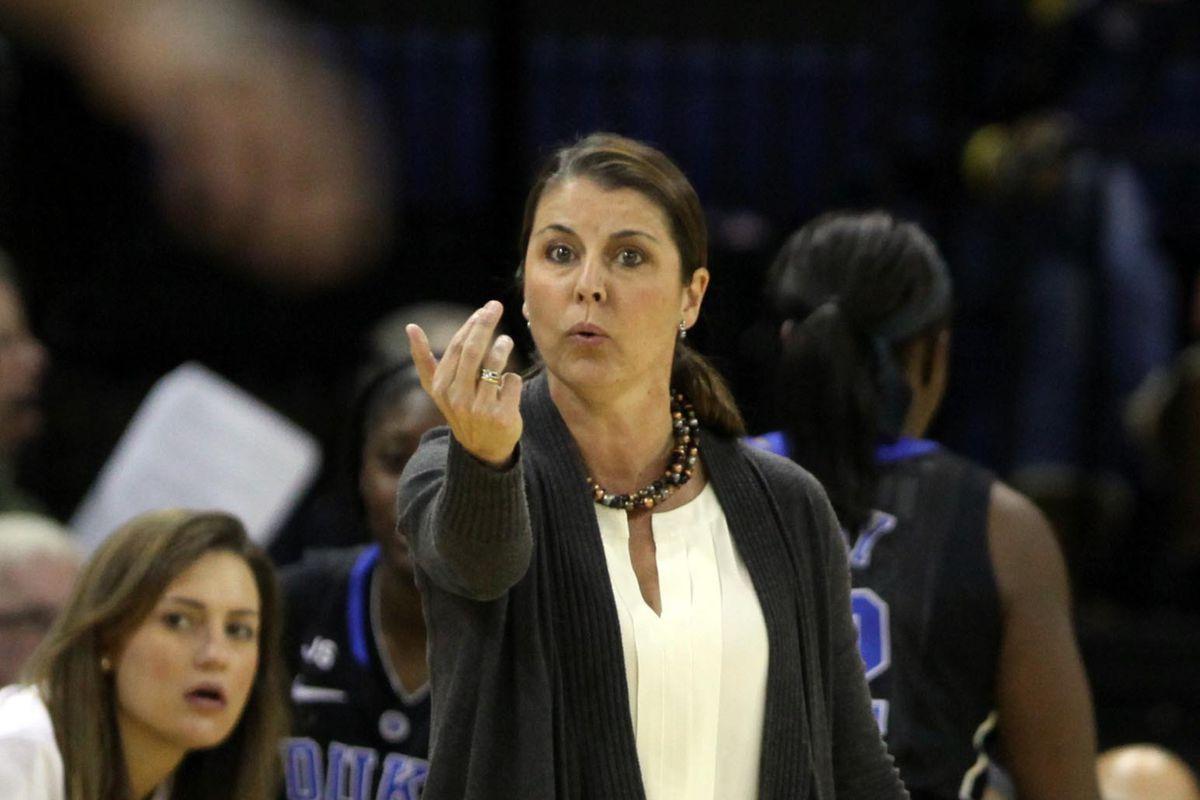 Duke coach Joanne P. McCallie, shown here against Marquette, is leading Duke deep into the Paradise Jam