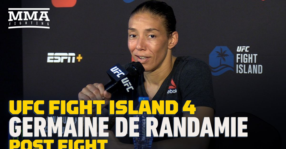 Video: Germaine De Randamie: 'I don't want to be a jerk, but I deserve more respect'