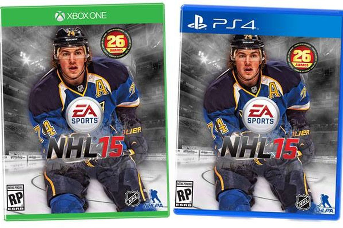 Something is up with EA Sports' mock-up. Something blue and note-y.