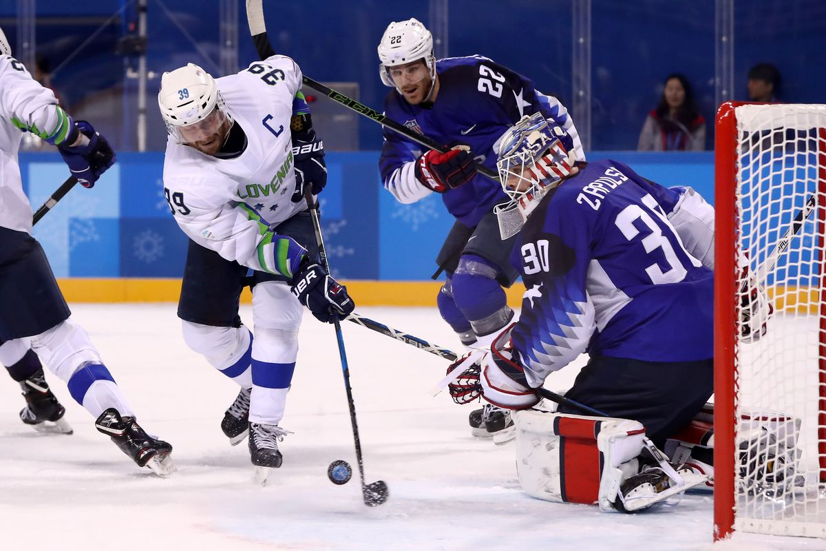 Russians outclass US 4-0 in men's ice hockey