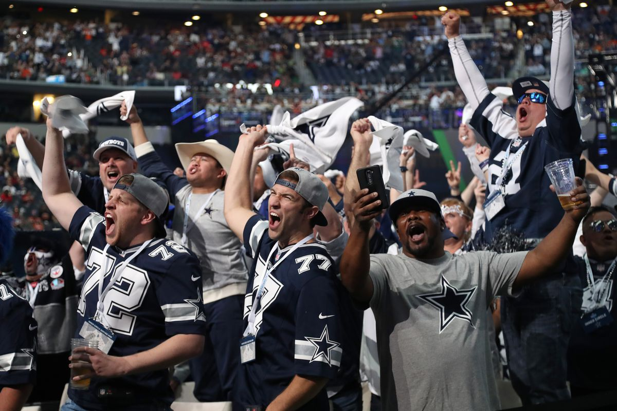 c09d5a931 Dallas Cowboys 2018 draft  Cumulative grade for the first three ...
