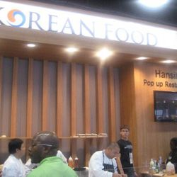 The Korean pavilion had its own pop-up restaurant, Hansik, featuring the delights of Las Vegas chef Akira Back.