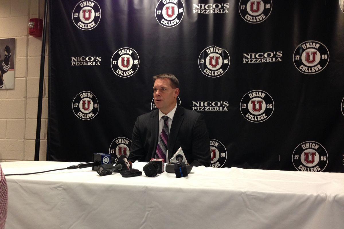 Rick Bennett is 9-0 as a head coach against RPI.