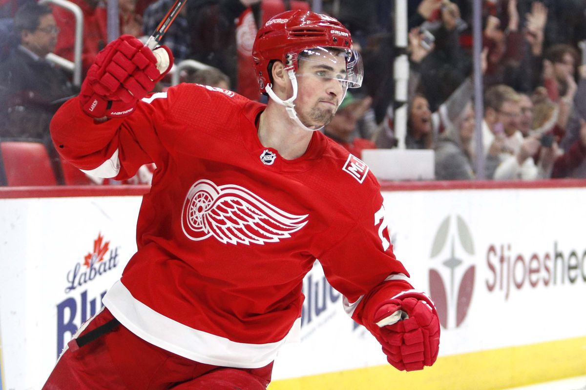4ed1176c5e1 Is Dylan Larkin the 'Real Deal ' - Winging It In Motown