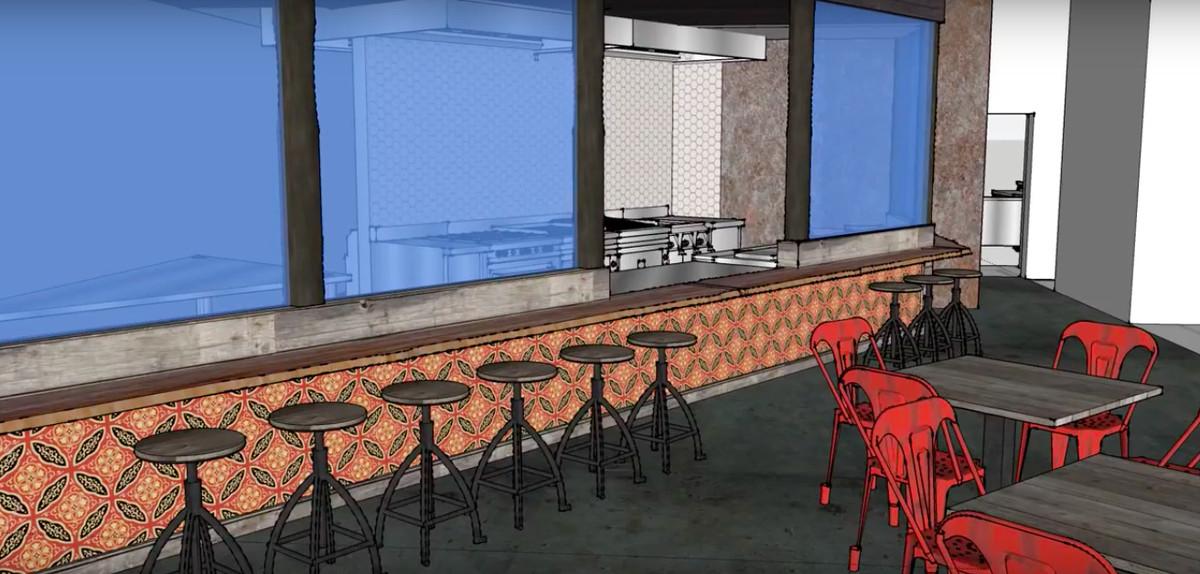 wokou rendering