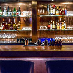 The bar at Himitsu.