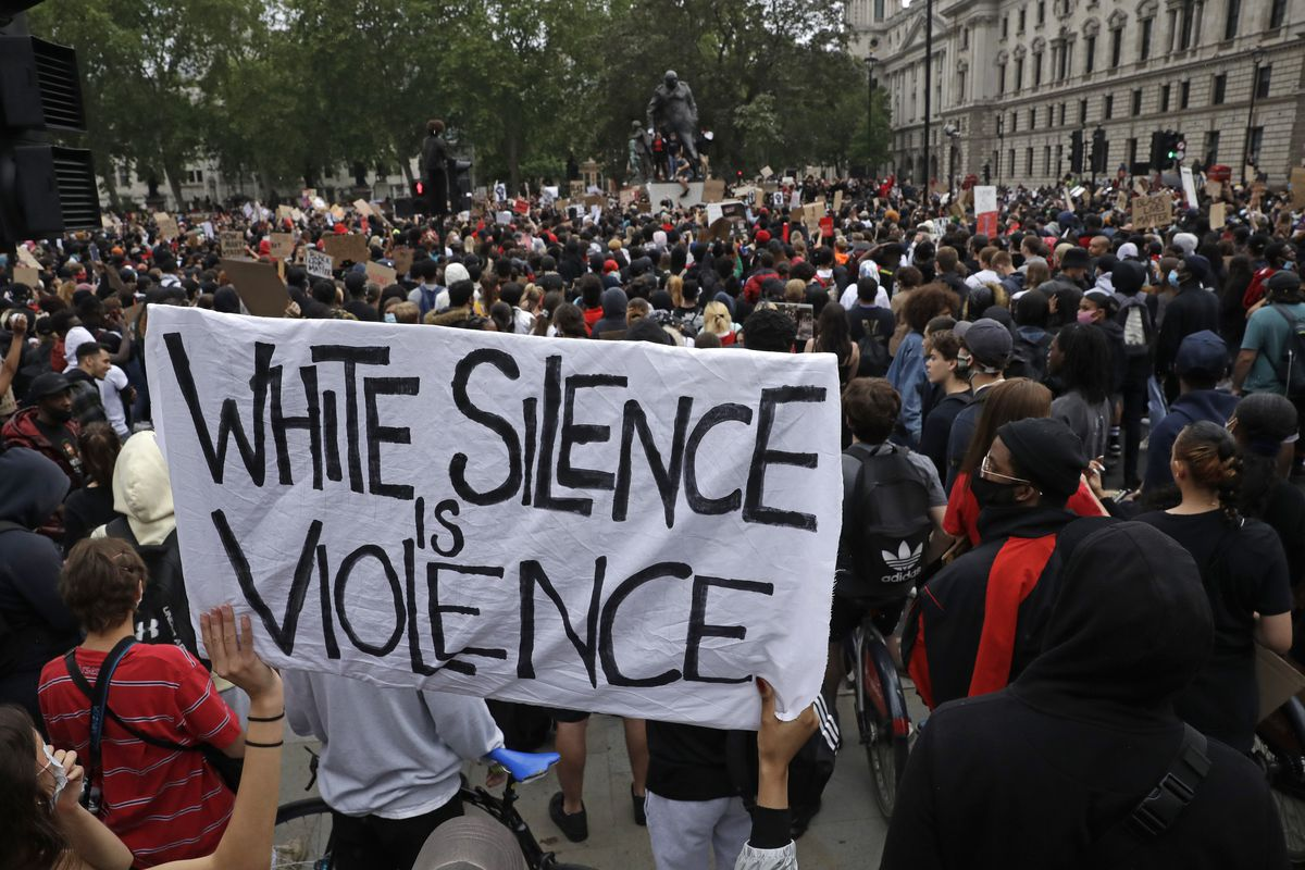 How can white people fight racism? Hint: It takes more than social ...