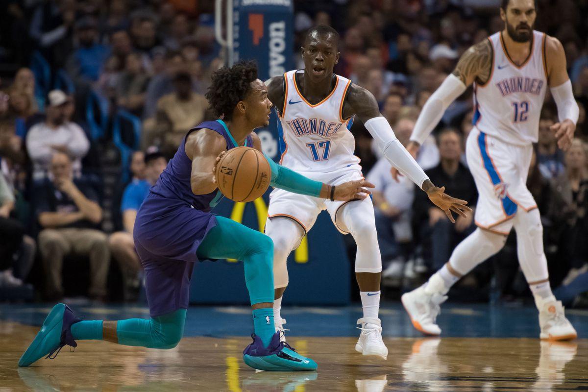 NBA: Charlotte Hornets at Oklahoma City Thunder