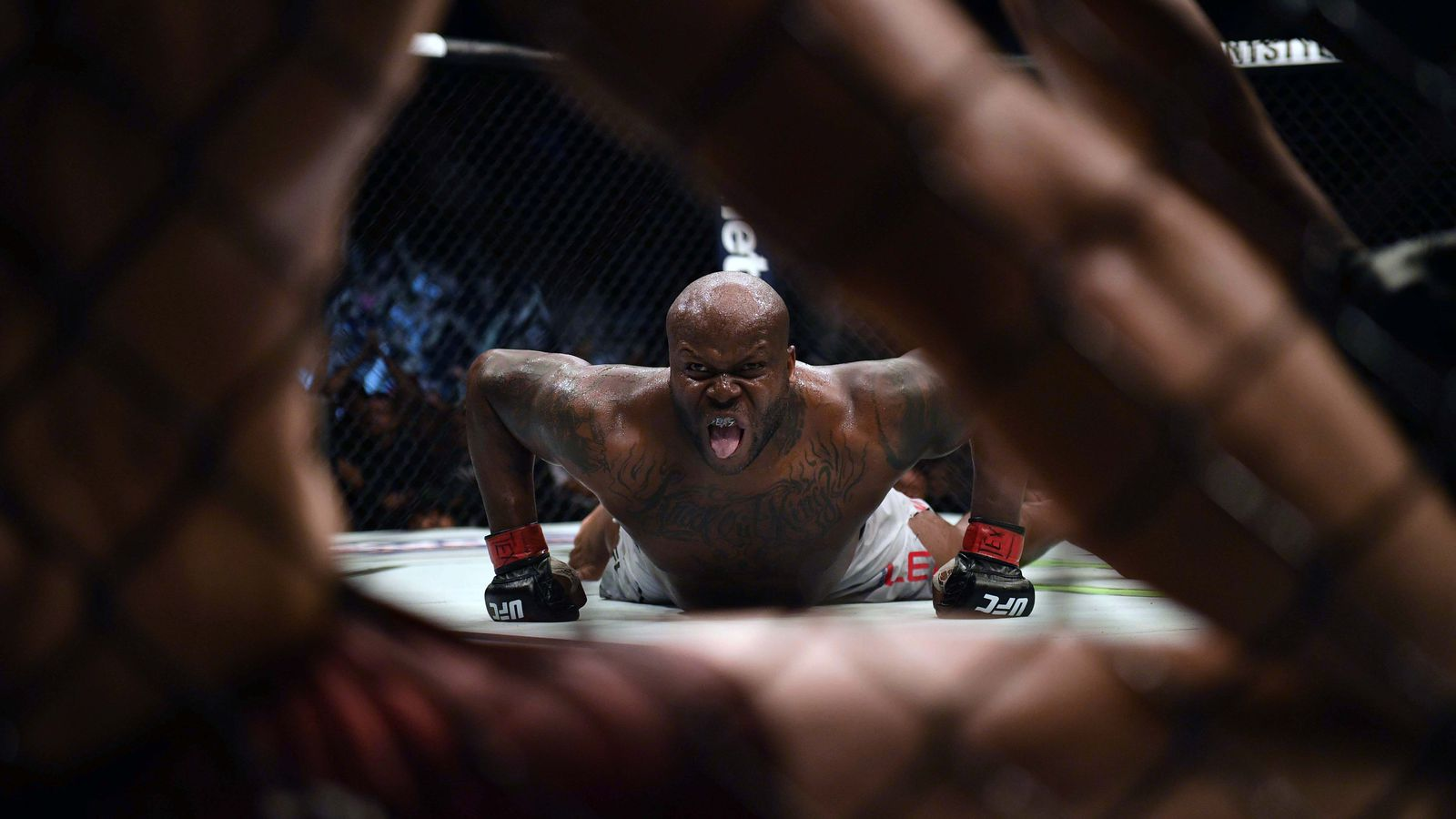 Derrick Lewis on 'some type of steroids' for UFC 229 and